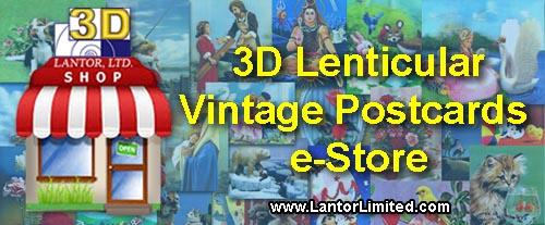Lenticular 3D Postcards