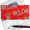 Betty Boop Lenticular Checkbook Cover, Changing Image Pattern, Red