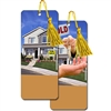 3D Lenticular Flip Realty Bookmark Real Estate House for Sale Sold
