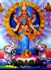 3D Lenticular Hindu Picture Temples Goddess