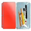 Pencil Pouch 3D Lenticular PP01-R306; Changing colors between red and white when tilted.
