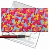 Lenticular Check Book Cover, PInk Color ,
