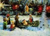3D Lenticular POSTCARD - THE NATIVITY