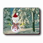 "Lenticular Magnet 4 3/4 ""x6 1/8"" , Happy Holiday,Christmas and New Year Card, Magic Snowman, Santa Hat, 901-PC 1-901-MAL"