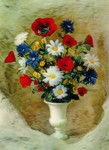 3D Lenticular POSTCARD - Country Flowers