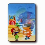 3D Lenticular Magnet - ALADDIN MAGIC LAMP ASP-1011-MAL
