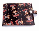 Betty Boop Lenticular CD Case / Wallet (Holds 20), Changing Image Pattern, Black