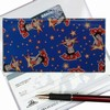 Betty Boop Lenticular Checkbook Cover, Changing Image Pattern , Blue