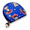 Betty Boop Lenticular Coin Purse with YKK Zipper, Changing Image Pattern , Blue