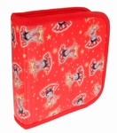 Betty Boop Lenticular CD Case / Wallet (Holds 24), Changing Image Pattern, Red