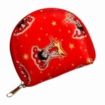 Betty Boop Lenticular Coin Purse with YKK Zipper, Changing Image Pattern, Red