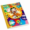 "Betty Boop Lenticular Ultra Spacious Spiral Bound Notebook, 6""x9"", Blank, 200 Pages, 3D Hippy Guitarist Image, Rainbow"