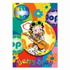 "Betty Boop Lenticular Postcard Deluxe 6.5""x9"" , 3D Hippy Guitarist Image, Rainbow"