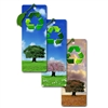 3D Lenticular Flip Bookmark Book mark Recycling Tree in Bloom Fall