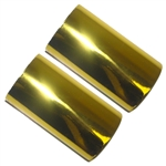 Hot Foil Stamp Rolls Gold