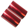 Hot Foil Stamp Rolls Metallic Red