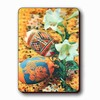 3D Lenticular Magnet - EASTER EGGS and LILIES CS-223-MAL