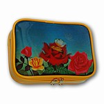 3D Lenticular Prado Purse, Moving Image, Flying Butterfly and opening rose ,CS-222-Prado