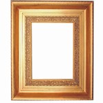 Golden Solid Wood Picture Frame, FR-13060G-CASSINO