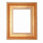 Golden Solid Wood Picture Frame, FR-A10060-TORINO