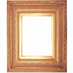 Golden Solid Wood Picture Frame, FR-B11066-BRENO