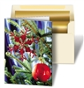 3D Lenticular Personalized Christmas Cards Image with Christmas Ornament, Ball, Tree