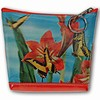 Lenticular Purse, 3D Lenticular Image, Butterfly and Flowers, I-001-Pavia