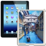 Lenticular iPad Skin for iPad 2 and iPad 3, White, Boat rowing in Venice Canal Lantor Ltd