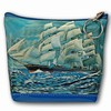Lenticular Purse, 3D Lenticular Picture, Cutty Sark, Sailing Ship, PK-047-Pavia