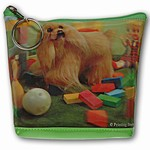 Lenticular Purse, 3D Lenticular Picture, Dog, Stuffed Puppy, PK-069-Pavia