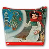 Lenticular Purse, 3D Lenticular Image, Little Girl with Matches at Christmas Eve, pk-094-Pavia
