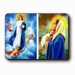 3D Lenticular Magnet - HOLY MOTHER-DC PK-206-MAL