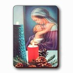 3D Lenticular Magnet - CandLES BEFORE SACRed PORTRAIT PK-221-MAL