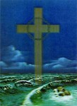 3D Lenticular POSTCARD - THE CROSS
