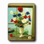 3D Lenticular Magnet - Flowers/WINDOW PK-291-MAL