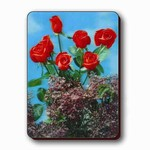 3D Lenticular Magnet - LILAC and Red ROSE PK-89-MAL