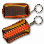 3D Lenticular Key Chain, Key Ring, Lipstick Case, Coin Purse, Changing Image Pattern , Pumpkin, Black, Yellow R-004-Globi