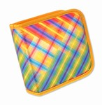 Lenticular CD DVD Case / Wallet (Holds 24), Changing Image Pattern, Rainbow,  R-007-CD24