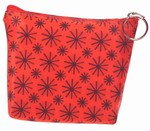 3D Lenticular Coin Purse - Pavia, with YKK Zipper, Red Moving Wheels