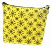 3D Lenticular Coin Purse - Pavia, with YKK Zipper, Yellow Moving Wheels