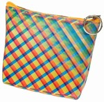 3D Lenticular Coin Purse - Pavia, with YKK Zipper, 3D Moving Rainbow