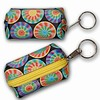 3D Lenticular Key Chain, Key Ring, Lipstick Case, Coin Purse, Changing Image Pattern , Rainbow Color, Moving Wheels, R-052-Globi