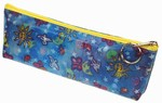 Lenticular Pencil Case, Sobre,Changing Image Pattern, Blue, Day and Night , Space