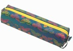 3D Lenticular Pencil Case, GLOBO, Butterflies , Red, Green, Blue