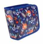 Lenticular CD DVD Case / Wallet (Holds 24), Changing Image Pattern, Blue, Red, White, 3D Space, R-217-CD24