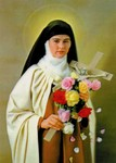 "3D Lenticular Picture / Poster 10.5"" X 13.5""  - ST. TERESA"