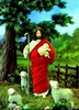 3D Lenticular POSTCARD - JESUS THE SHEPHERD