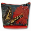 Lenticular Purse, 3D Lenticular Image, Butterfly, Flower, Monsrch on Gerbera RC-622-Pavia