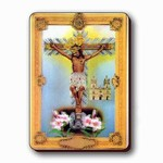 3D Lenticular Magnet - CRUCIFICTION RC-633-MAL