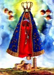 3D Lenticular POSTCARD - VIRGIN W/ANGELS